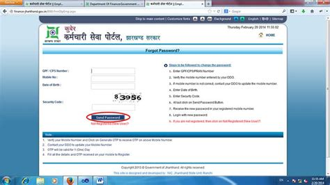 Jharkhand Finance Department Letter planning finance department finance government of