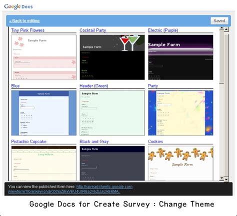 google theme reset สร างแบบสำรวจด วย google docs ร ว วโดนใจ