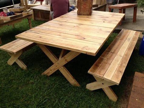picnic bench out of pallets different unique pallet picnic table bench pallets designs