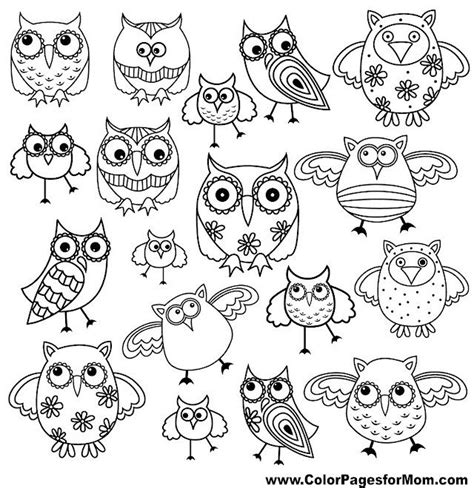 owl doodle coloring page 350 best images about difficult coloring pages on pinterest