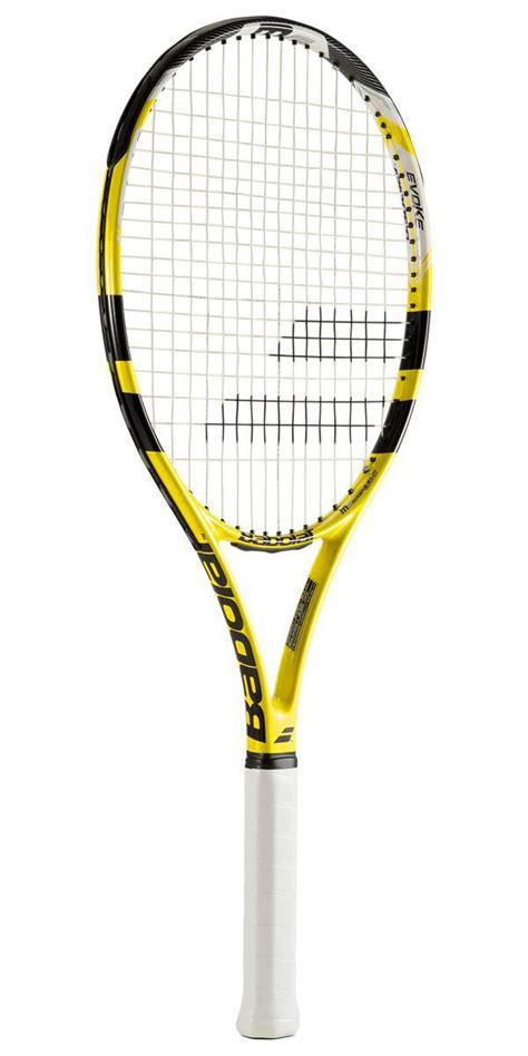 Senar Raket Tenis Babolat Addiction 17 babolat evoke 105 tennis racket black yellow