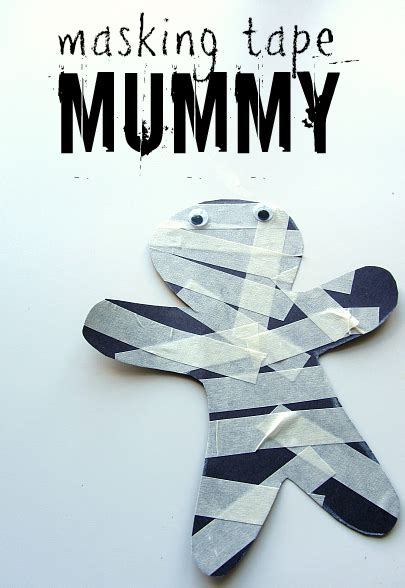 mummy craft for materialistic mummies munchkins and