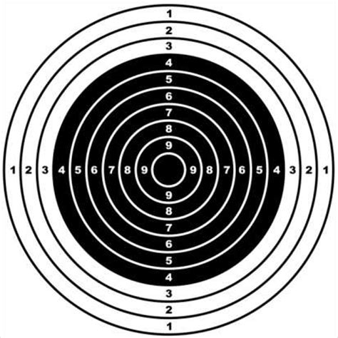 printable 8 inch targets an introduction to shooting realbuzz