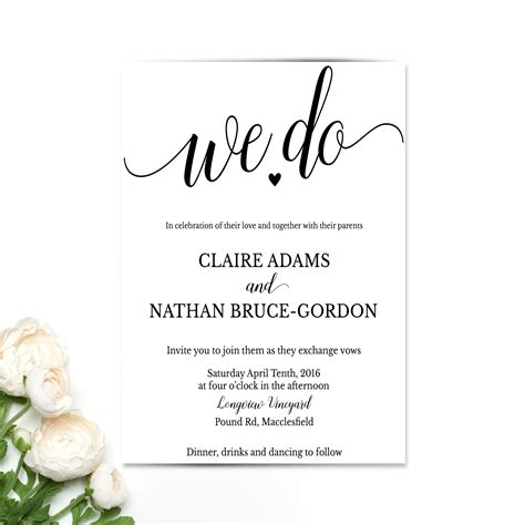 Where To Do Wedding Invitations by Fresh We Do Wedding Invitations Jakartasearch