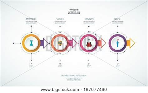 How To Make A 3d Timeline On Paper - vector infographics timeline design template with 3d paper