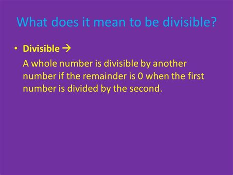 Divisibility Rules Page 10 In Textbook Ppt Video Online