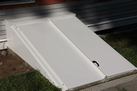 powder coated bilco basement door