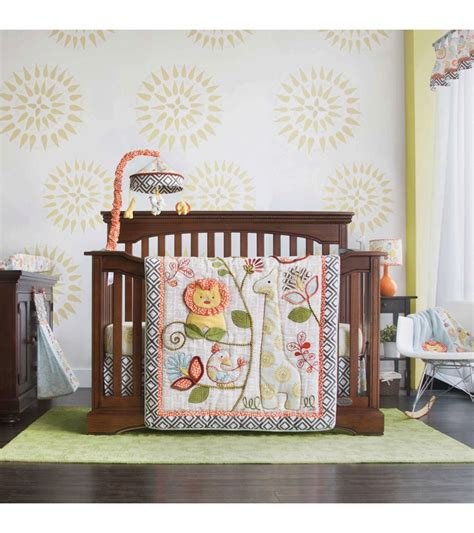 cocalo crib bedding sets cocalo sydney 4 crib bedding set