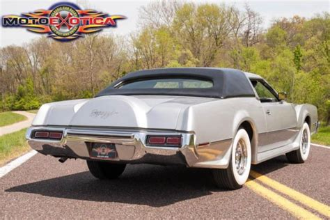 1973 lincoln continental iv for sale 1973 george barris lincoln continental quot bugazzi quot mk iv for