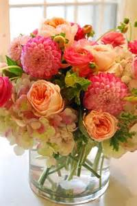 Gorgeous Flower Arrangements by Roses Hydrangea Dahlia Ranunculus Home