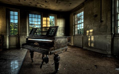 Home And Interior old piano wallpaper hd