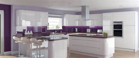 purple kitchens 1000 images about kuchnia on pinterest pink kitchens