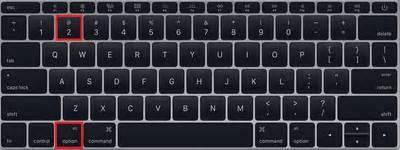como digitar o arroba (@) no laptop