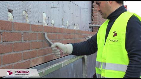 fugare le piastrelle finitura dei mattoni a vista costipazione stilatura e