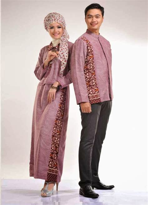 Kemeja Pasangan U S Army 15 model baju muslim pasangan terbaik kumpulan