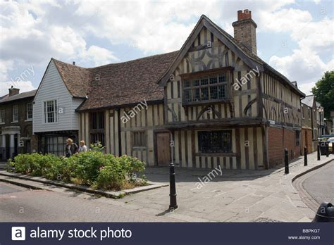 houses to buy walthamstow quot the ancient house quot quot walthamstow village quot quot walthamstow conservation stock photo