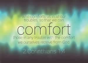 Corinthians Comfort by 2 Corinthians 1 4 Re Ver Sing Verses