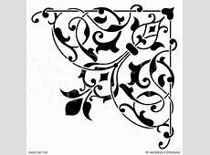 Corner Stencils – Modello® Designs B