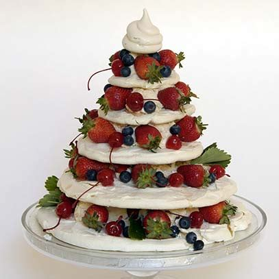 ina paarman meringue christmas tree