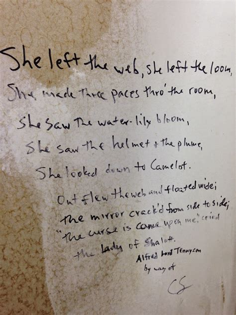 bathroom wall poetry as the crowe flies and reads march 2015