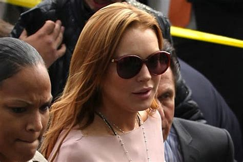Lindsays To Finally Visit Rehab by Lindsay Lohan Is Glitterbombed Before Finally Agreeing To