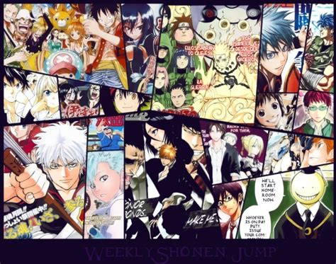 Myanimelist Top Anime by Myanimelist Top 10 Mangas De La Weekly Shonen Jump