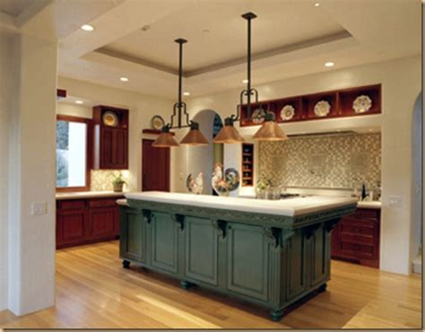 the great many colors and styles of the kitchen island
