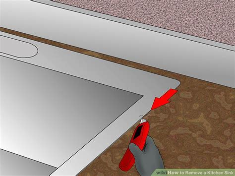 how to remove a kitchen sink 14 steps with pictures