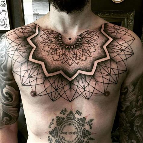 geometric chest tattoos best 25 abdomen ideas on