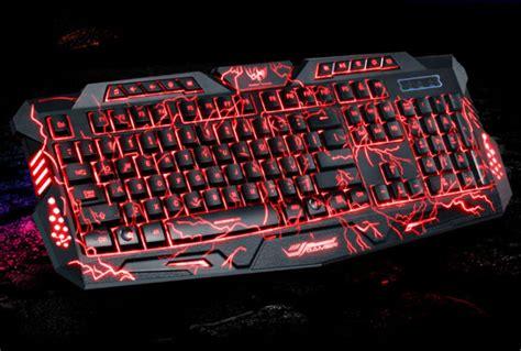 Keyboard Komputer Gaming led backlights professional for gaming keyboard