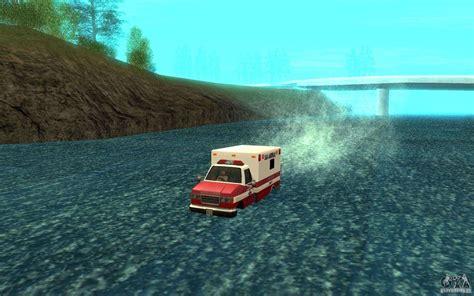 cheat code for boat in gta san andreas ambulan boat for gta san andreas