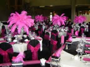 pink and black centerpieces for weddings pink black white wedding cakes pink and black wedding