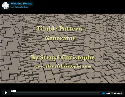 tileable pattern generator tileable pattern generator 3ds max polycount