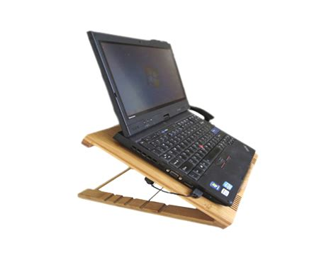 Bamboo Laptop Stand Shop Bamgood Laptop Platform For Desk