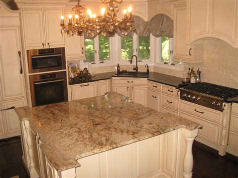 Kitchens Cabinets by Colossus Granite Amp Marble Inc Typhoon Bordeaux Island