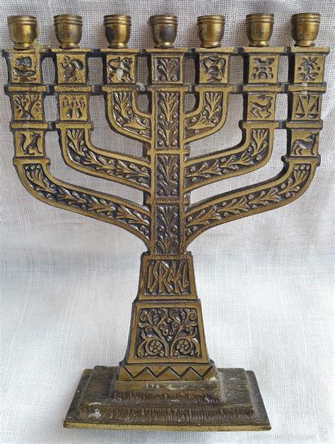candelabro hebreo peque 241 o candelabro jud 237 o menor 224 7 brazos comprar