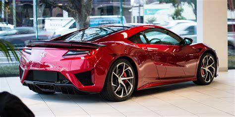honda supercar 2017 honda nsx 420 000 driveaway price tag tipped for