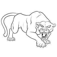 color your own black panther books 10 printable panther coloring pages your toddler will