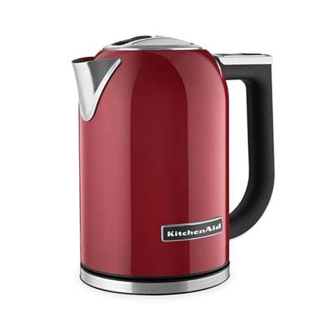 kitchenaid artisan electric kettle kek1722 empire red on