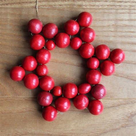 Weihnachtssterne Aus Perlen Basteln Anleitung by Weihnachtssterne Aus Holzperlen Handmade Kultur