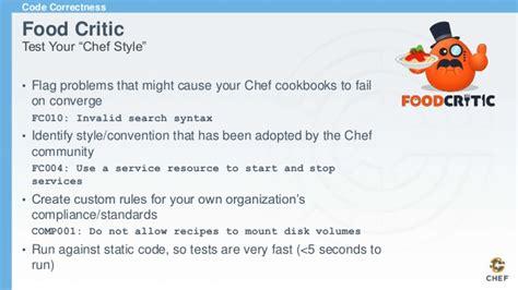 chef cookbook workflow