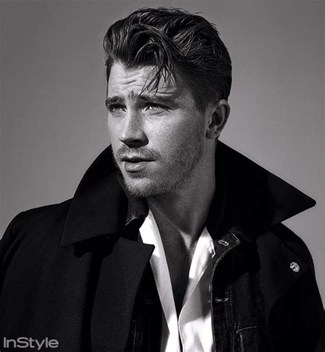Garrett Hedlund On Working With Angelina Jolie   InStyle.com