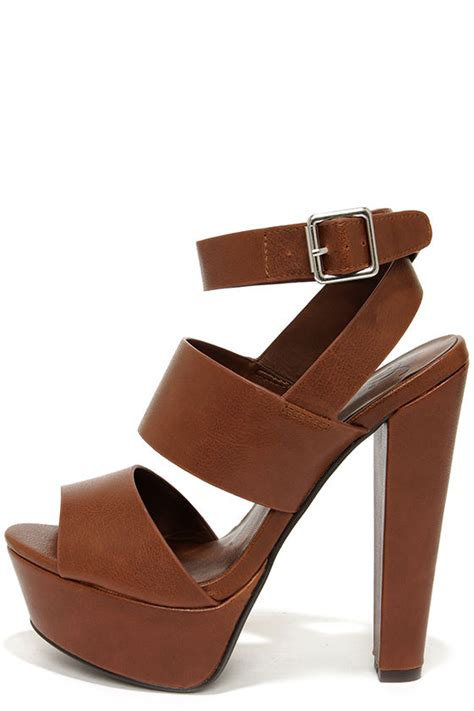 light brown wedge heels cute brown shoes platform sandals platform heels 29 00