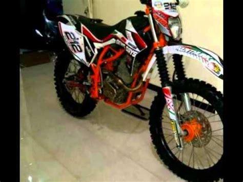 Modifikasi Motor Tiger 2013 modifikasi motor trail kondisi masih jozz engine motor honda tiger 250cc 2013