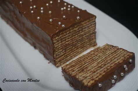 Cocinando Con Montse Tarta De Nutella Con Galletas   cocinando con montse tarta de nutella con galletas