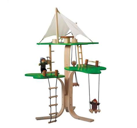 plan toys eco house treat your kids with a safe and eco friendly toys the plan toys dollhouse tree house