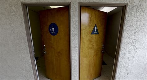 bathroom laws california poll transgender bathroom laws split americans politico