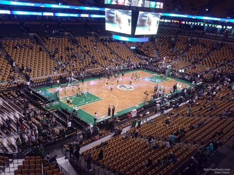 how many seats in the td garden how many rows are in td garden balcony fasci garden