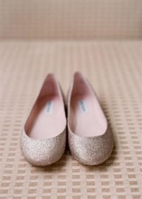 wedding shoes flats sparkle silver sparkly wedding flats glitter bridal flats