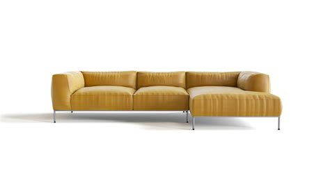 leather sofa yellow yellow leather sofa divani casa daffodil modern yellow